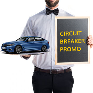 Circuit Breaker Promotion: Up to 50% off Car Rental