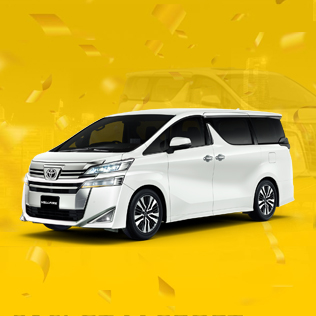 Toyota Vellfire @ Only $3,300 monthly