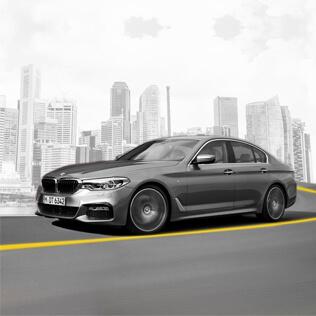 BMW 520i Monthly Rental @ $3,480